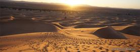 Desert Sunrise, Free Facebook Timeline Profile Cover, Nature