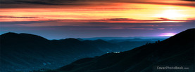 Epic Mountain Sunset, Free Facebook Timeline Profile Cover, Nature