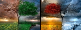 Four Seasons Digital, Free Facebook Timeline Profile Cover, Nature