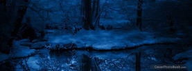 Ice Forest, Free Facebook Timeline Profile Cover, Nature
