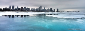Ice on the lake, Free Facebook Timeline Profile Cover, Nature