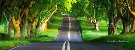Inspirational Infinite Street, Free Facebook Timeline Profile Cover, Nature