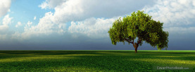 Landscape Lone Tree, Free Facebook Timeline Profile Cover, Nature