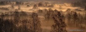Misty Landscape, Free Facebook Timeline Profile Cover, Nature
