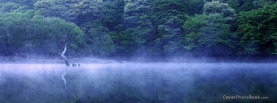 Misty Mirror Lake, Free Facebook Timeline Profile Cover, Nature