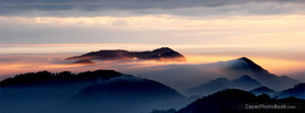 Misty Mountain View, Free Facebook Timeline Profile Cover, Nature