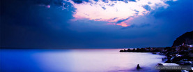Mystic Shoreline Fog, Free Facebook Timeline Profile Cover, Nature