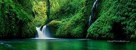 Nice Nature River Waterfall, Free Facebook Timeline Profile Cover, Nature