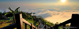 Sky Path Mountain, Free Facebook Timeline Profile Cover, Nature