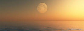 Summer Haze Moon, Free Facebook Timeline Profile Cover, Nature
