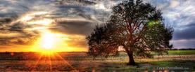 Sunrise Landscape Tree, Free Facebook Timeline Profile Cover, Nature