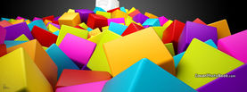 Colorful Squares, Free Facebook Timeline Profile Cover, Other Cool