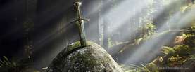 Sword in Stone Magical, Free Facebook Timeline Profile Cover, Other Cool