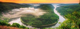 Awesome Saar Loop River Germany, Free Facebook Timeline Profile Cover, Places