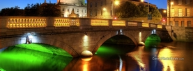 Bridge in Dublin Ireland, Free Facebook Timeline Profile Cover, Places