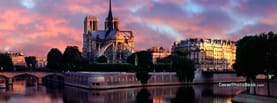 Cathedrale Notre Dame de Paris, Free Facebook Timeline Profile Cover, Places