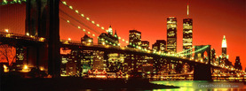 City Bridge Lights, Free Facebook Timeline Profile Cover, Places