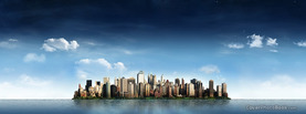 City Skyline, Free Facebook Timeline Profile Cover, Places
