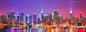 Colorful New York City, Free Facebook Timeline Profile Cover, Places