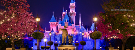 Disneyland Castle, Free Facebook Timeline Profile Cover, Places