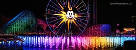 Disneyland Colors, Free Facebook Timeline Profile Cover, Places