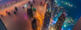 Dubai Skyline, Free Facebook Timeline Profile Cover, Places