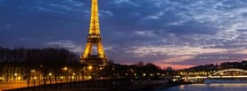 Eiffel Tower Lights Night France, Free Facebook Timeline Profile Cover, Places