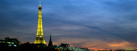 Eiffel Tower Paris, Free Facebook Timeline Profile Cover, Places