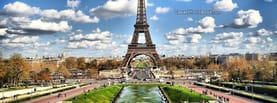 France Eiffel Tower City Sky Clouds, Free Facebook Timeline Profile Cover, Places