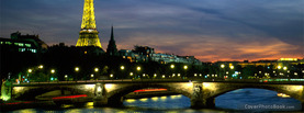 France Eiffel Tower Seine River, Free Facebook Timeline Profile Cover, Places