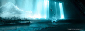 Magical Underground Ice Cavern, Free Facebook Timeline Profile Cover, Places