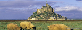 Mont Saint Michel France, Free Facebook Timeline Profile Cover, Places