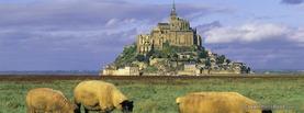 Mont Saint Michel France, Free Facebook Timeline Profile Cover, Places