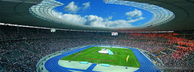 Olympia Stadium Wolken, Free Facebook Timeline Profile Cover, Places