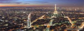 Paris City Eiffel Tower, Free Facebook Timeline Profile Cover, Places