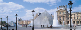 Paris Louvre, Free Facebook Timeline Profile Cover, Places