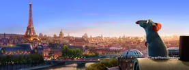 Ratatouille France Eiffel Tower, Free Facebook Timeline Profile Cover, Places