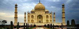 Taj Mahal, Free Facebook Timeline Profile Cover, Places