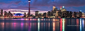 Toronto City Canada, Free Facebook Timeline Profile Cover, Places