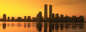 Twin Towers Sea, Free Facebook Timeline Profile Cover, Places