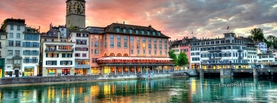 Zurich Switzerland, Free Facebook Timeline Profile Cover, Places