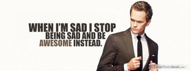 Barney Stinson, Free Facebook Timeline Profile Cover, Quotes