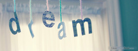 Dream Strings Text, Free Facebook Timeline Profile Cover, Quotes