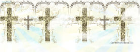Crosses Floral Pattern Cross, Free Facebook Timeline Profile Cover, Religion