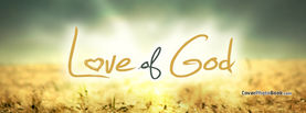 Love of God, Free Facebook Timeline Profile Cover, Religion