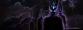 Dark Clouds Aliens, Free Facebook Timeline Profile Cover, Strange