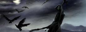 Dark Grim Reaper, Free Facebook Timeline Profile Cover, Strange