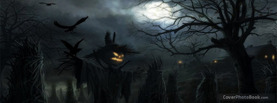Dark Night Scarecrow Crows, Free Facebook Timeline Profile Cover, Strange