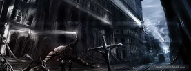 Dark Strange City, Free Facebook Timeline Profile Cover, Strange