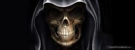 Death Skull, Free Facebook Timeline Profile Cover, Strange